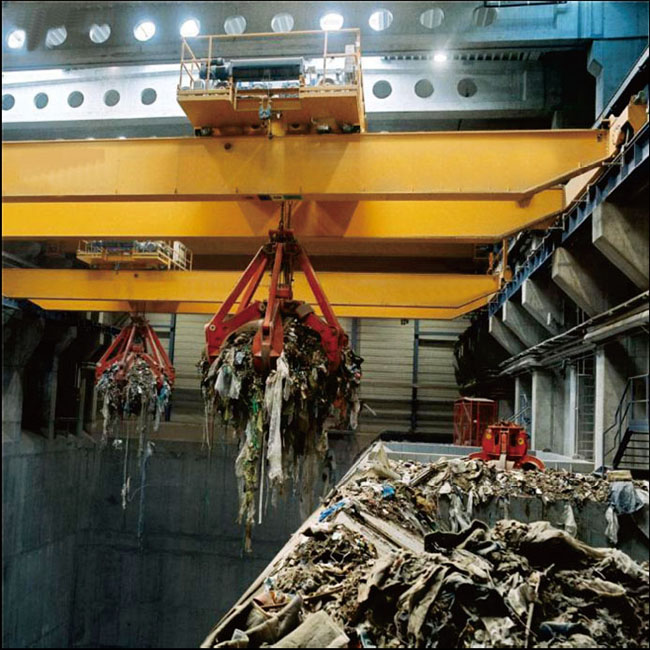 Scrap Waste Recycling Industrial Cranes