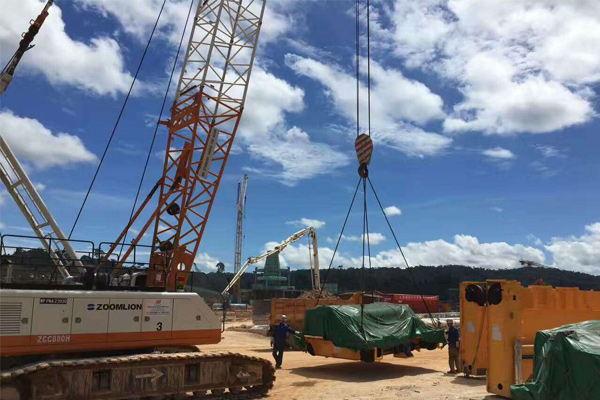 Overhead Crane Installation For Steel Plant in Malaysia - Henan