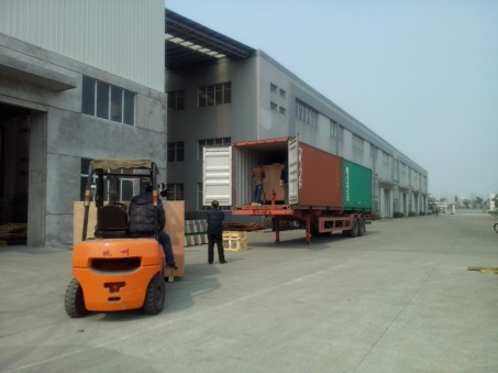 Hydraulic Hoist Cargo Delivery to Ethiopia