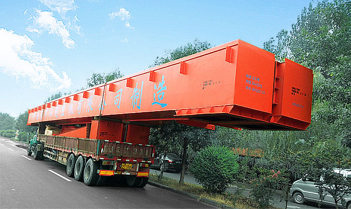 ME Double trolley gantry crane delivery to Indonesia