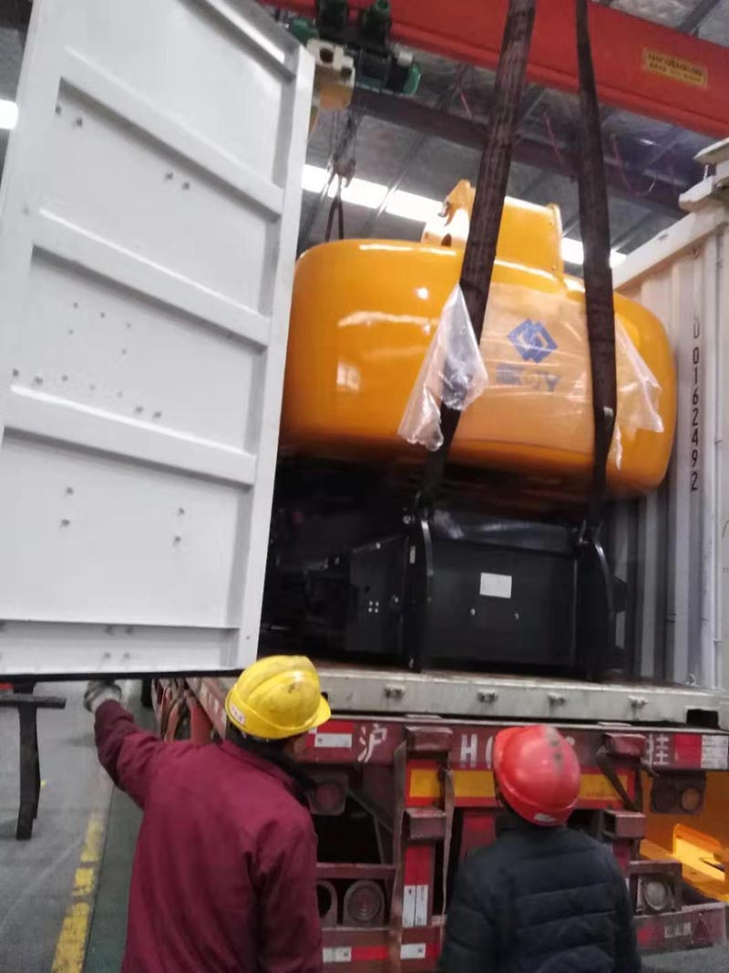 Telescopic boom lifts were delivered to Myanmar