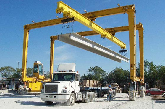 Straddle Carrier Gantry Crane