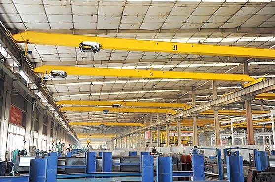 Overhead Cranes Europe : Yuntian nlh european type double girder overhead crane